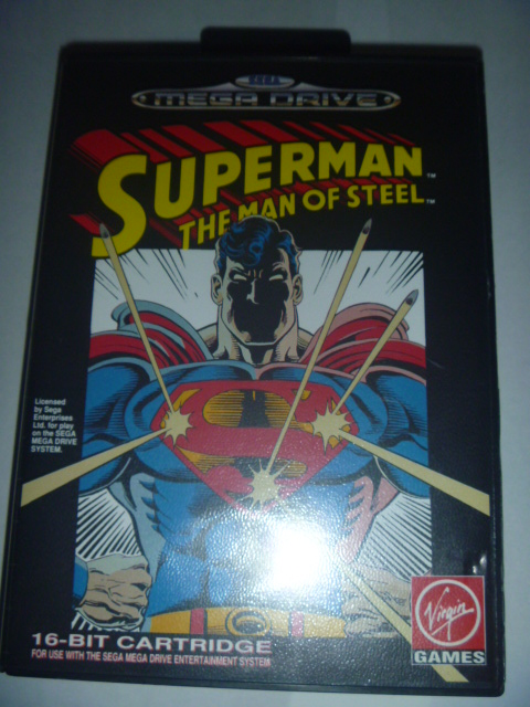 海外 欧州MEGA DRIVE Superman The Man of Steel - Virgin Games スーパーマン