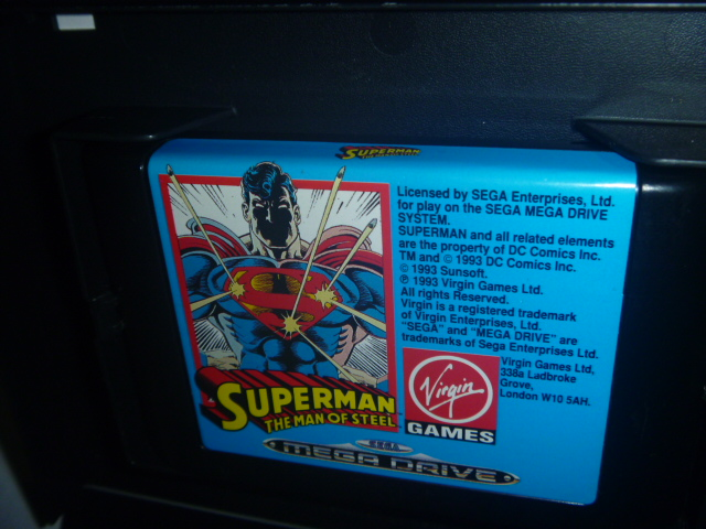 海外 欧州MEGA DRIVE Superman The Man of Steel - Virgin Games スーパーマン_画像8
