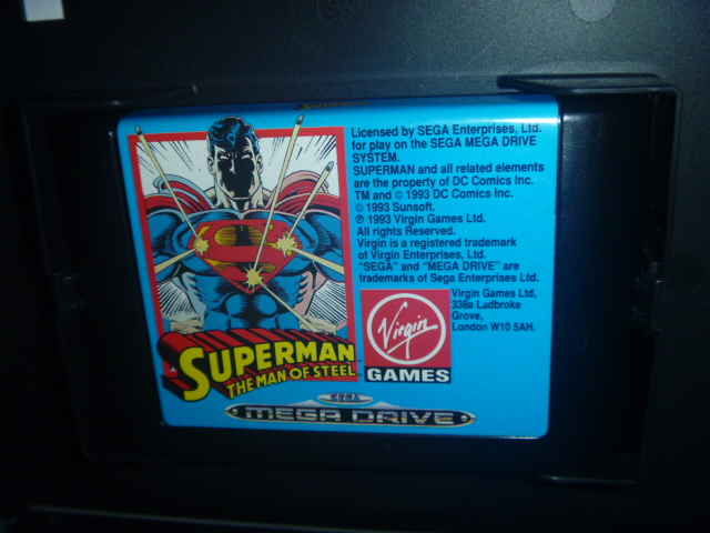 海外 欧州MEGA DRIVE Superman The Man of Steel - Virgin Games スーパーマン_画像7