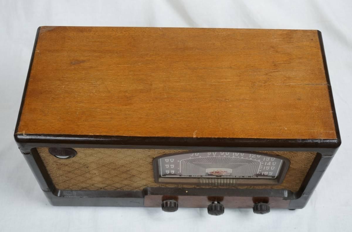 八欧無線 ゼネラルスーパー6S-6 ST管 真空管ラジオ ジャンク_画像4