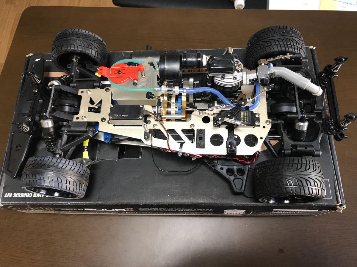 【ジャンク】京商 エンジンカー スーパー10 fourⅡ