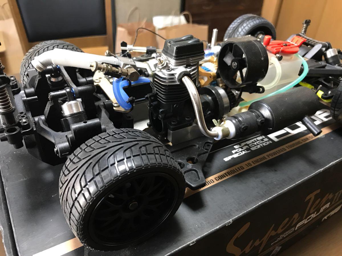 【ジャンク】京商 エンジンカー スーパー10 fourⅡ_画像3