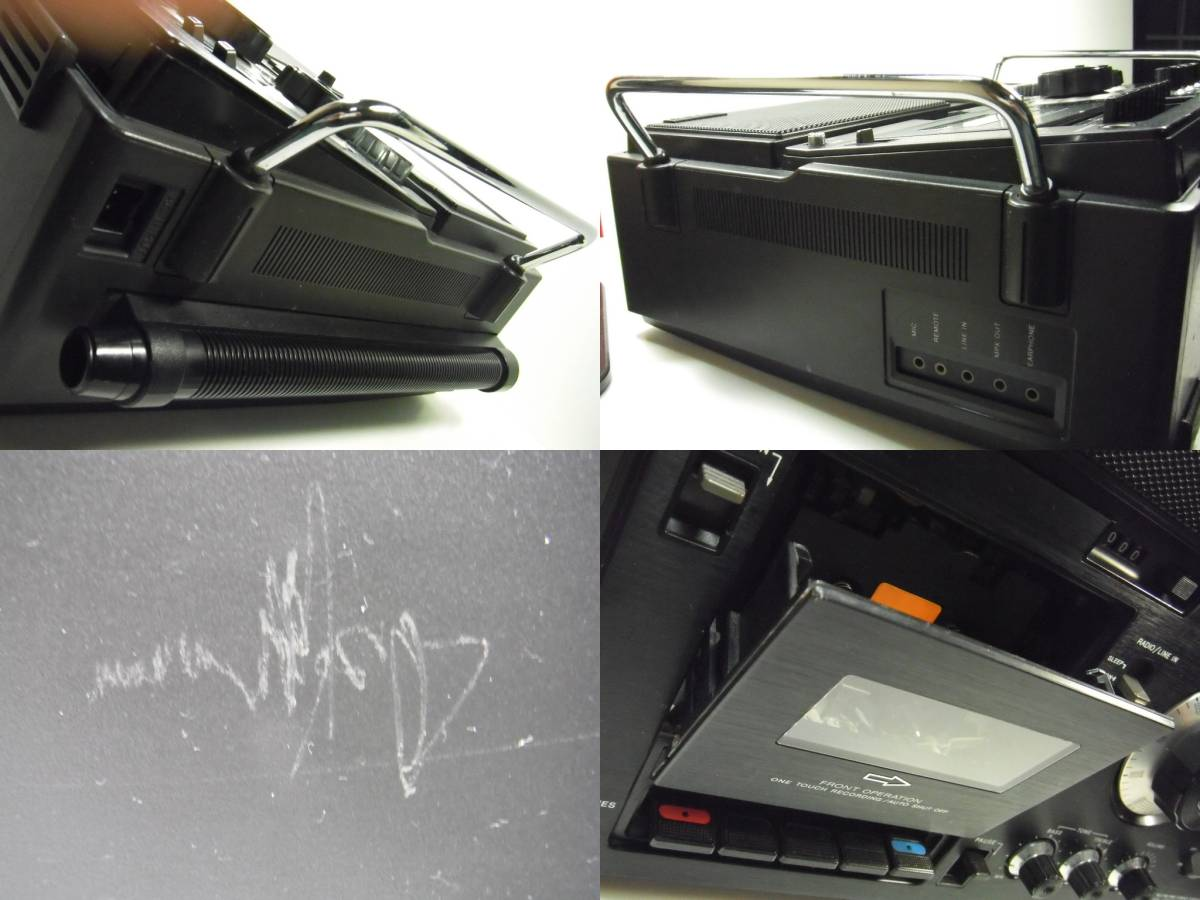 SONY ソニー CF-5950 ラジオ カセット ジャンク カセット 不動作_画像10