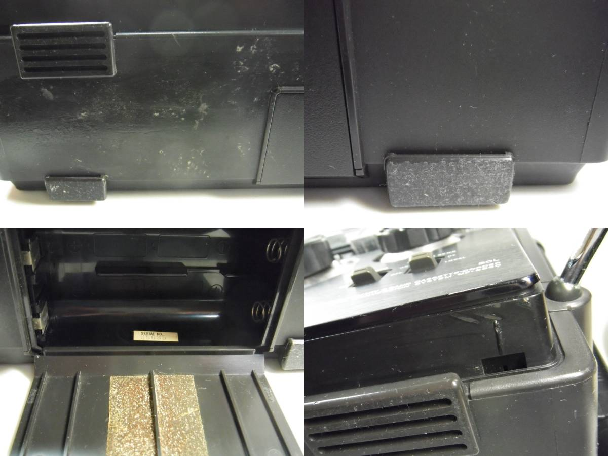 SONY ソニー CF-5950 ラジオ カセット ジャンク カセット 不動作_画像5