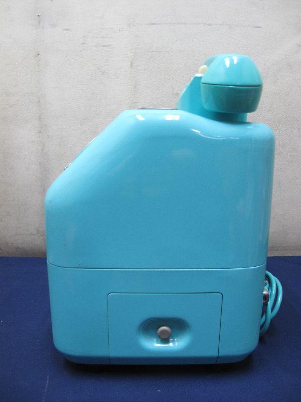 昭和レトロ 青色 ダイヤル式公衆電話(22)676-A2N 日本電信電話公社_画像4