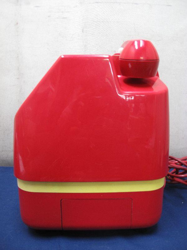 昭和レトロ 赤色 ダイヤル式公衆電話(26)678-A2 1982年5月 田村電機製作所_画像4
