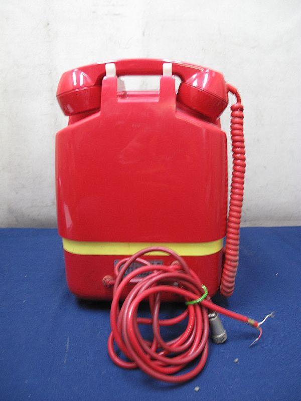 昭和レトロ 赤色 ダイヤル式公衆電話(26)678-A2 1982年5月 田村電機製作所_画像6