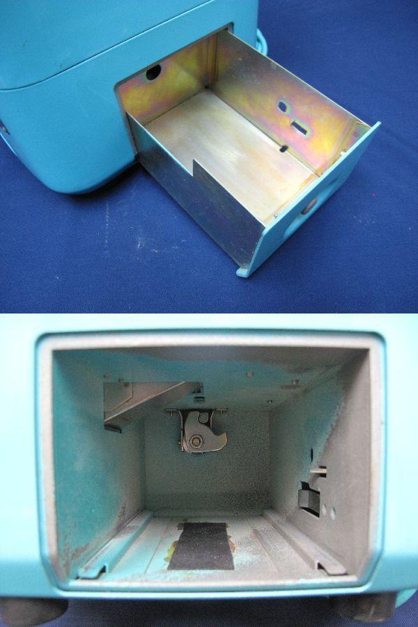 昭和レトロ 青色 ダイヤル式公衆電話(22)676-A2N 日本電信電話公社_画像9