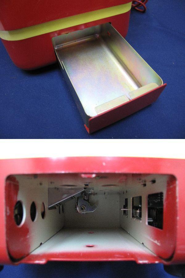 昭和レトロ 赤色 ダイヤル式公衆電話(26)678-A2 1982年5月 田村電機製作所_画像9