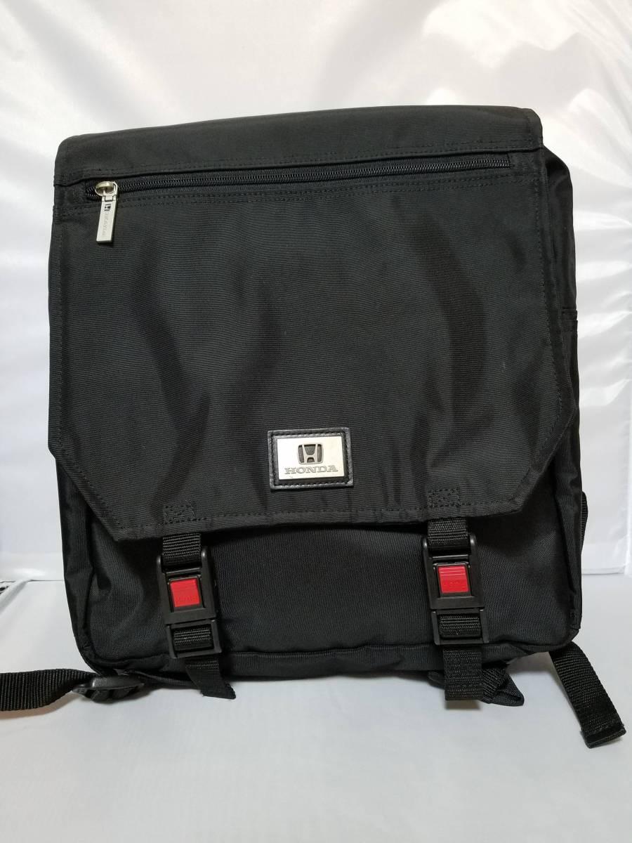 【非売品/未使用】HONDAオリジナルバッグ(黒)