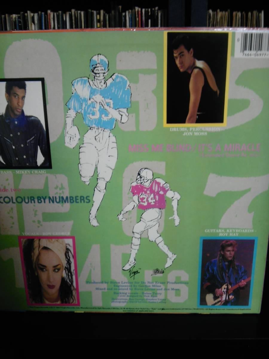US-Promo12' Culture Club/Miss Me Blind/It's A Miracle-Extended Dance Remix_画像2