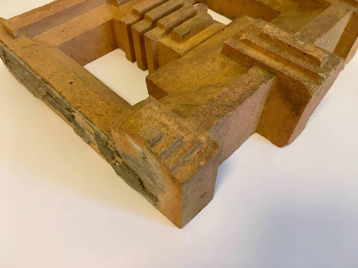 フランク・ロイド・ライト 旧帝国ホテル レンガ (装飾テラコッタ 平物) Frank Lloyd Wright_画像5