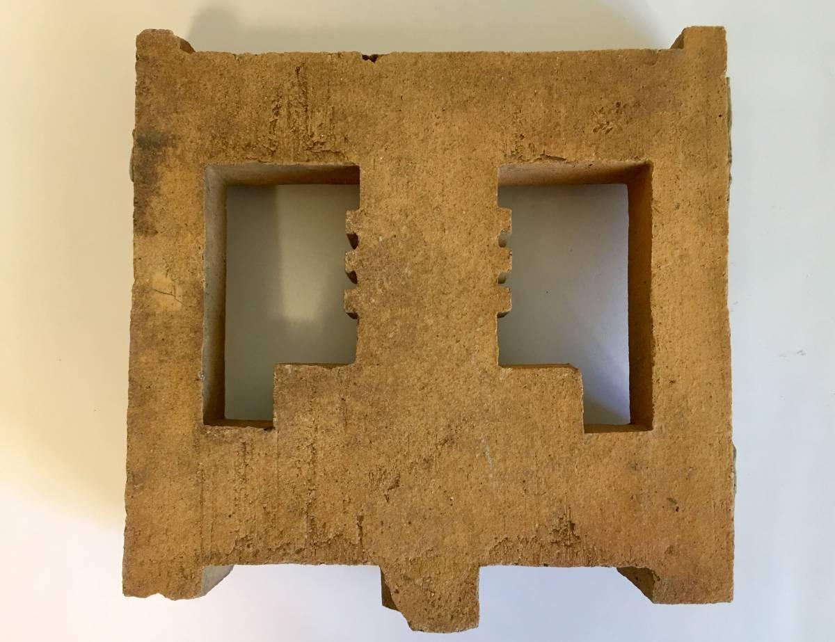フランク・ロイド・ライト 旧帝国ホテル レンガ (装飾テラコッタ 平物) Frank Lloyd Wright_画像8