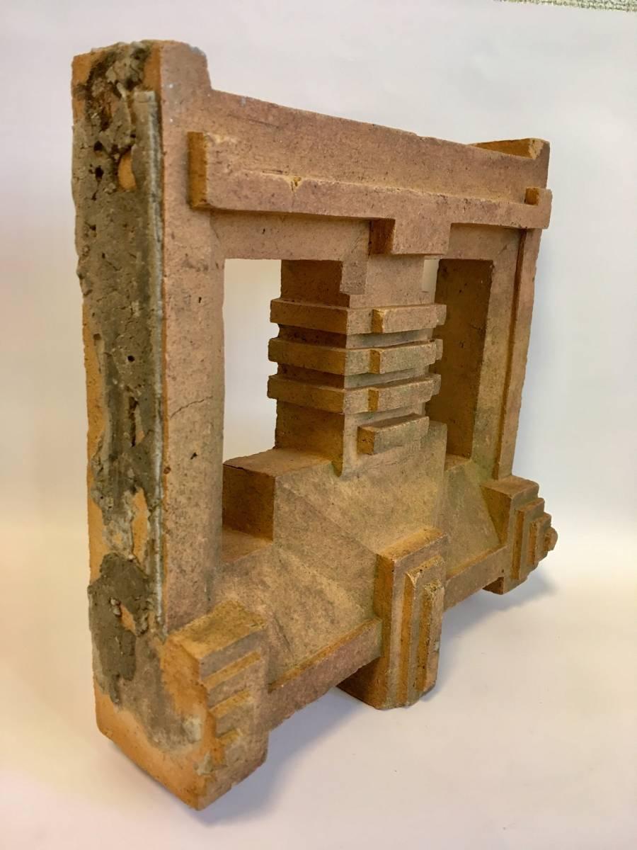 フランク・ロイド・ライト 旧帝国ホテル レンガ (装飾テラコッタ 平物) Frank Lloyd Wright_画像3