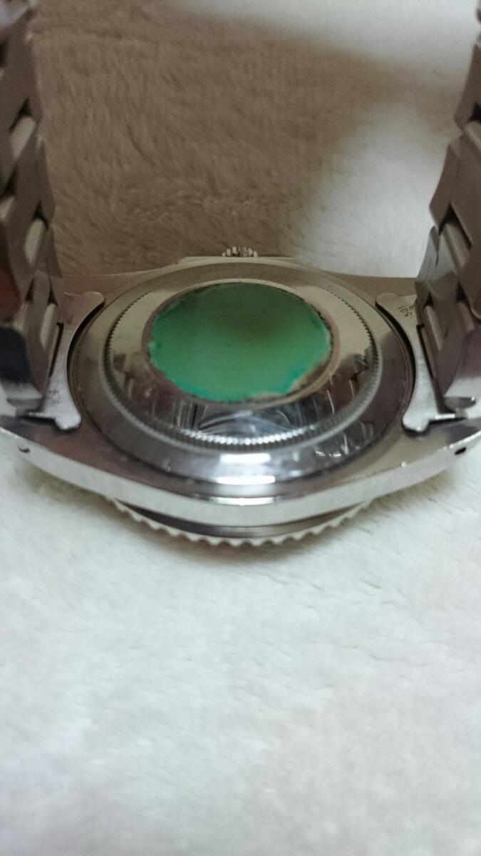 ロレックス 中古品(2オーナー) GMTマスター赤×青16700メンズ 自動巻_画像7