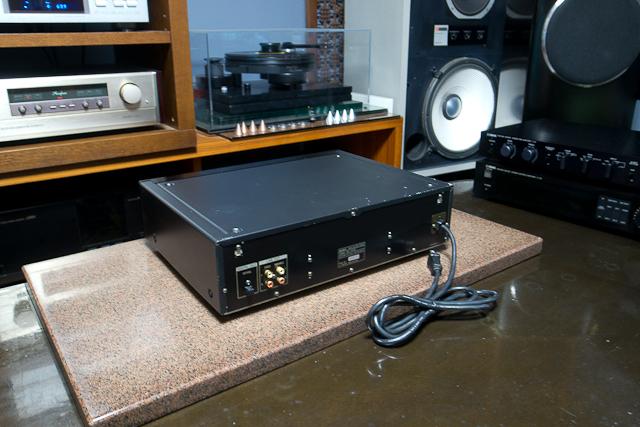 ESシリーズ CDプレーヤー カレントパルスD Aコンバートシステム CDP-XA3ES SONY ブラック ベルト交換済み DAC、CXD2562Q_画像7