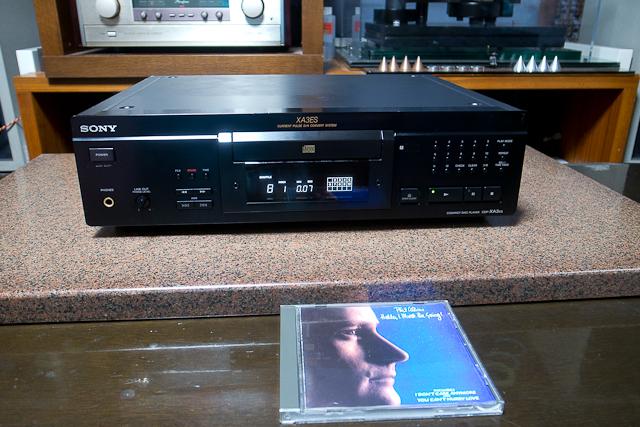 ESシリーズ CDプレーヤー カレントパルスD Aコンバートシステム CDP-XA3ES SONY ブラック ベルト交換済み DAC、CXD2562Q_画像5