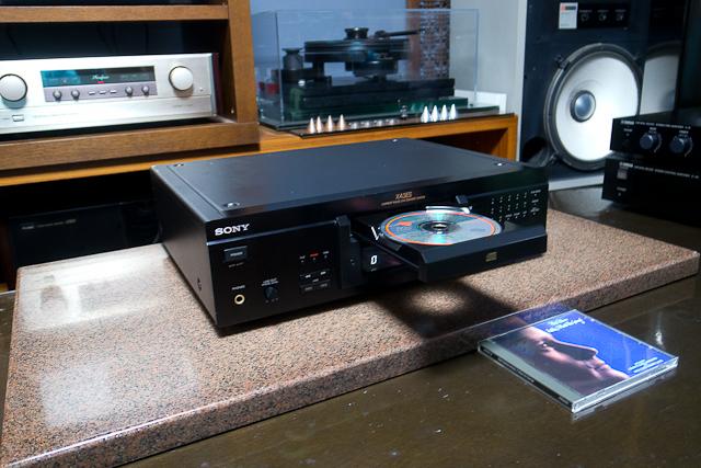 ESシリーズ CDプレーヤー カレントパルスD Aコンバートシステム CDP-XA3ES SONY ブラック ベルト交換済み DAC、CXD2562Q_画像8