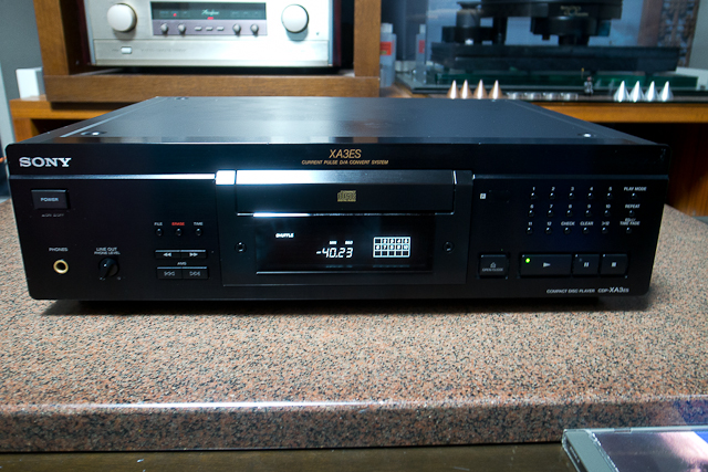 ESシリーズ CDプレーヤー カレントパルスD Aコンバートシステム CDP-XA3ES SONY ブラック ベルト交換済み DAC、CXD2562Q_画像10