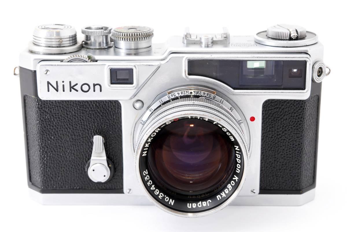 ◆希少美品◆ ニコン Nikon SP 50mm F1.4 S.C. #2731