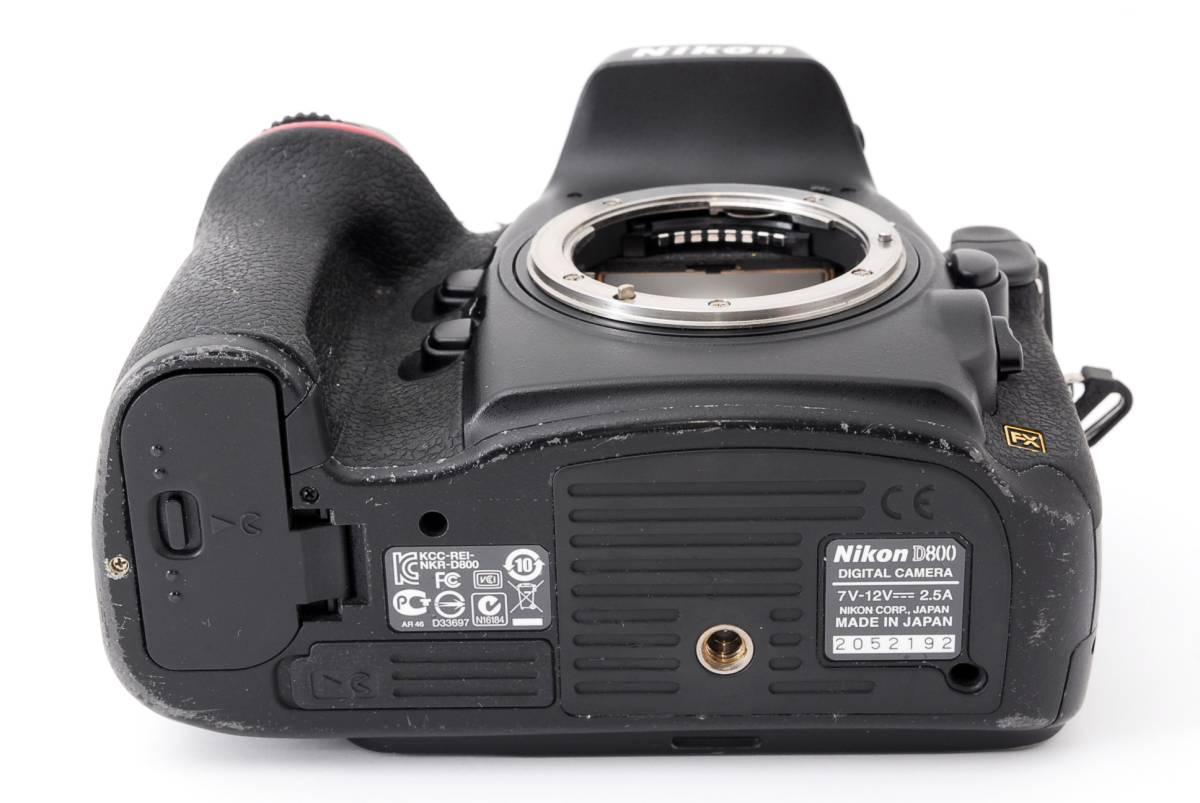 ◆1月値下げ◆人気機種◆ニコン Nikon D800 ボディ #2745_画像9