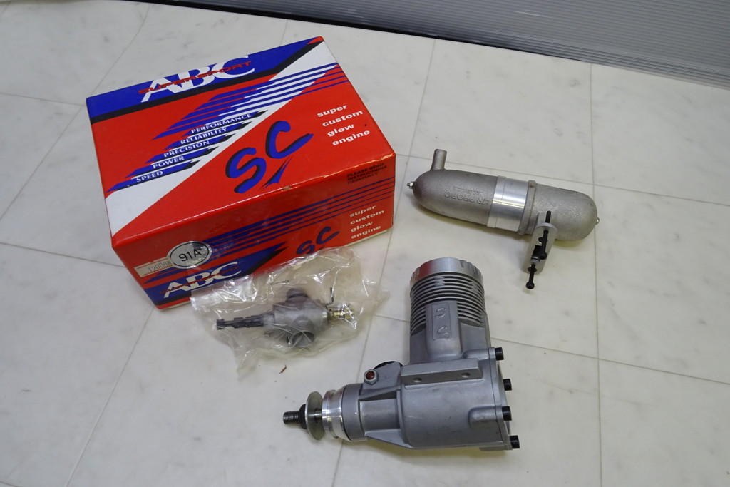 ジャンク扱い・長期保管品■(8)エンジン・パーツ 画像のものまとめて O.S. MAX H80/RC *ABC SC 91A_画像2