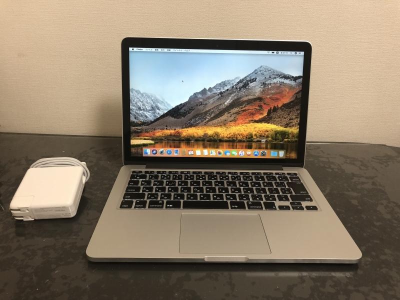 極美品 Apple MacBook Pro Retina A1502 Core i7-5557U/13.3インチ/Windows 10 Pro/16GB/超高速 PCI-e SSD 1TB/Early 2015/Office 2016