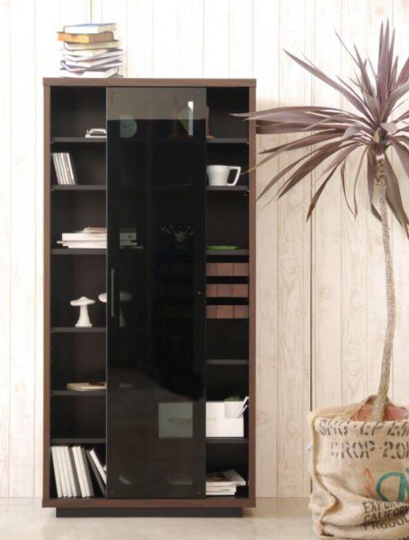 食器棚 キッチンボード 本棚 飾り棚 フリーボード キッチンキャビネット シェルフ リビング コルク デザイナーズ家具_画像7