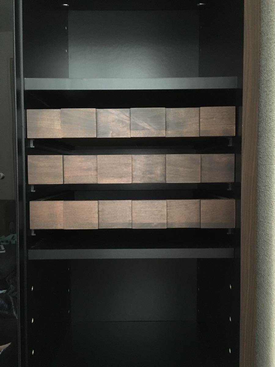 食器棚 キッチンボード 本棚 飾り棚 フリーボード キッチンキャビネット シェルフ リビング コルク デザイナーズ家具_画像3