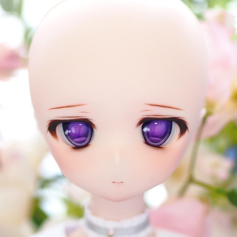 DDH-01セミホワイト肌:カスタムヘッド+レジンアイ_画像5