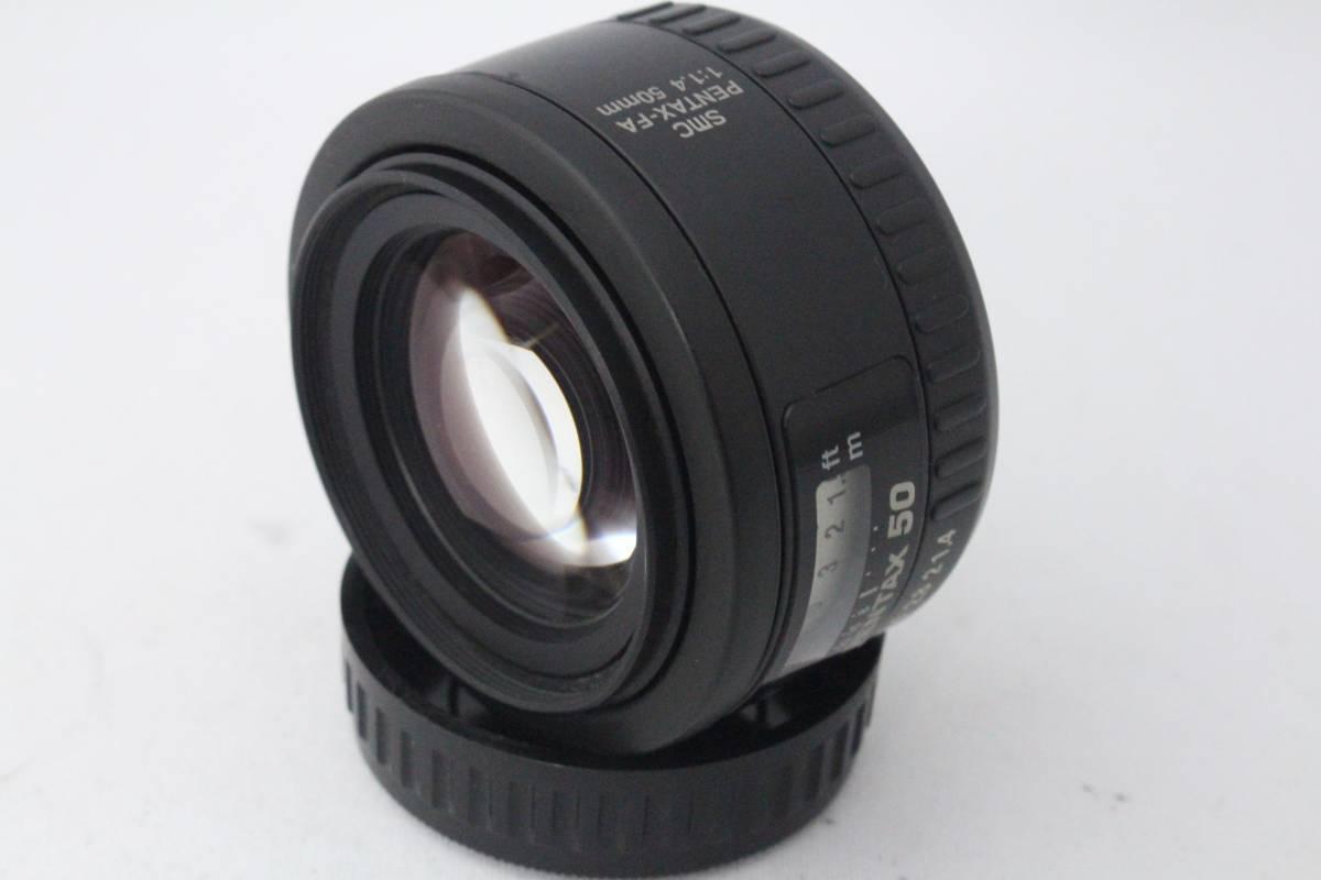 ★超極上品★ペンタックス SMC PENTAX-FA 50mm F1.4★200/39