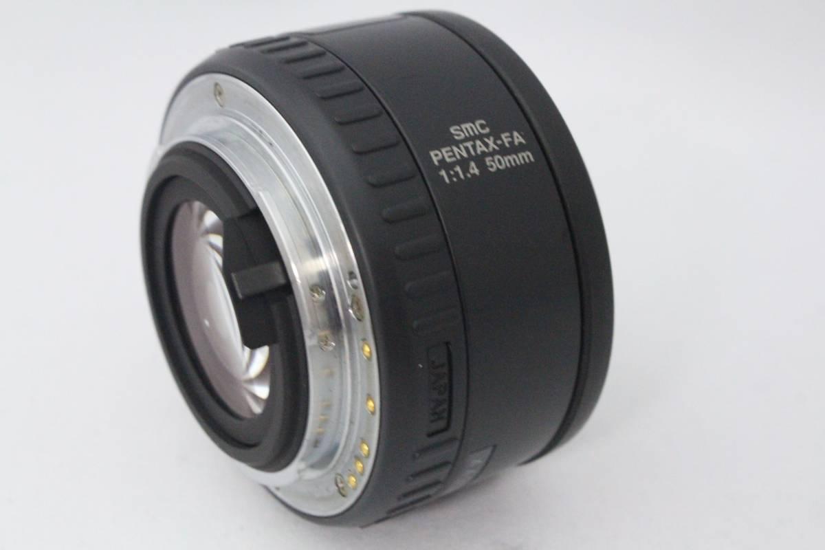 ★超極上品★ペンタックス SMC PENTAX-FA 50mm F1.4★200/39_画像4