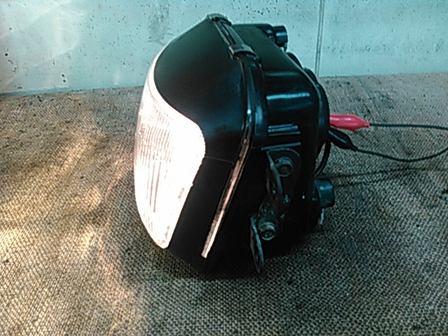中古良品!ZZ-R250 ZZR250 EX250H 純正ヘッドライト 割れなし Genuine Parts_画像3