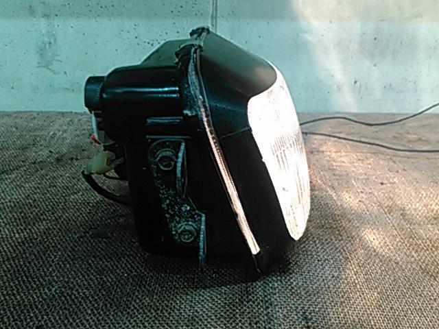 中古良品!ZZ-R250 ZZR250 EX250H 純正ヘッドライト 割れなし Genuine Parts_画像4
