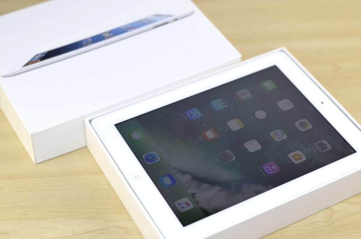 1円~売り切り iPad4 16GB MD513J/A Retinaディスプレイ Wi-Fiモデル