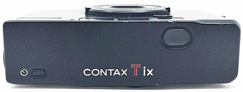 S0348 KYOCERA 京セラ コンパクトカメラ CONTAX コンタックス Tix ブラック_画像7