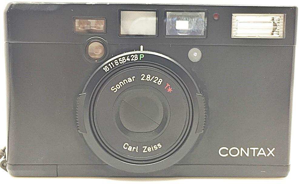 S0348 KYOCERA 京セラ コンパクトカメラ CONTAX コンタックス Tix ブラック_画像6