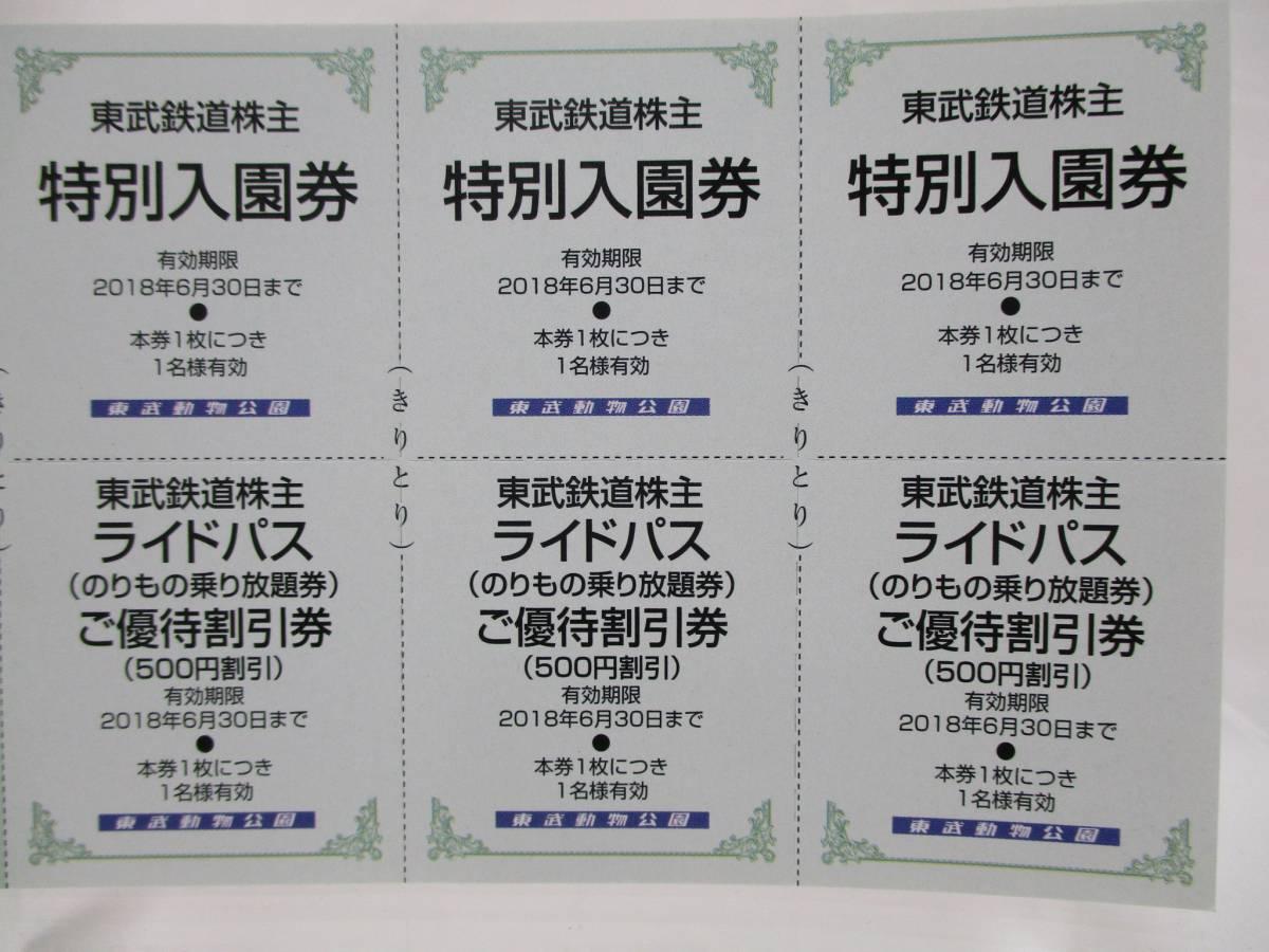 【大黒屋】 東武鉄道 株主優待 冊子×1冊 ☆東武動物公園入園券、他☆_画像3