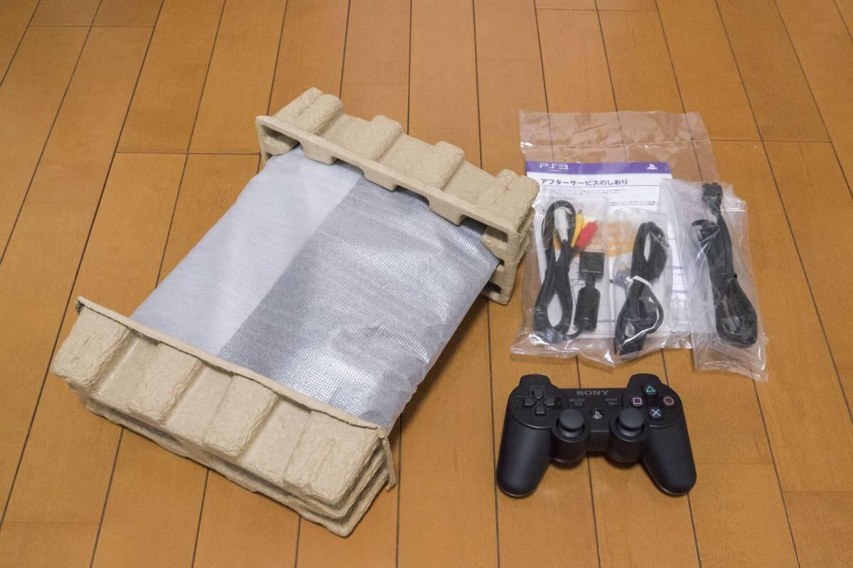 【美品】 SONY PS3本体 CECH-4000B 250GB ★箱有・付属品有・完動品★_画像3