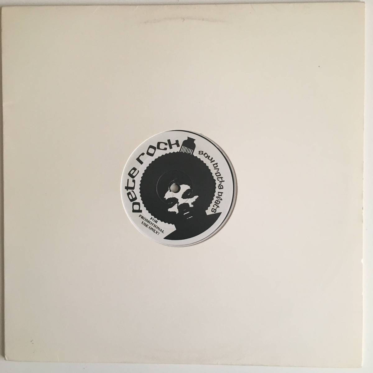 ●Pete Rock/ピートロック/Soul Brotha Beats/1LP/廃盤/レア盤/90's HipHop/Jazzy/DJ Kiyo_画像3
