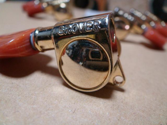 Grover グローバー 3×3 ゴールド オレンジボタン 1Set_画像3