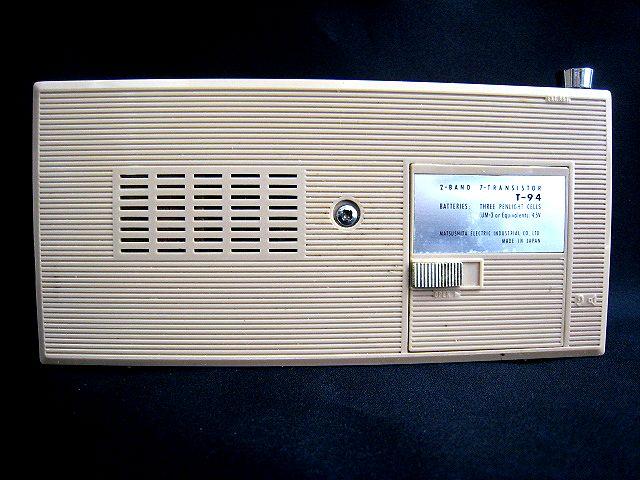 ●レトロ アンティーク● ナショナル SEIKO セイコー トランジスターラジオ T-94 時計 手巻き 昭和 ディスプレイ 002111-i02y_画像8