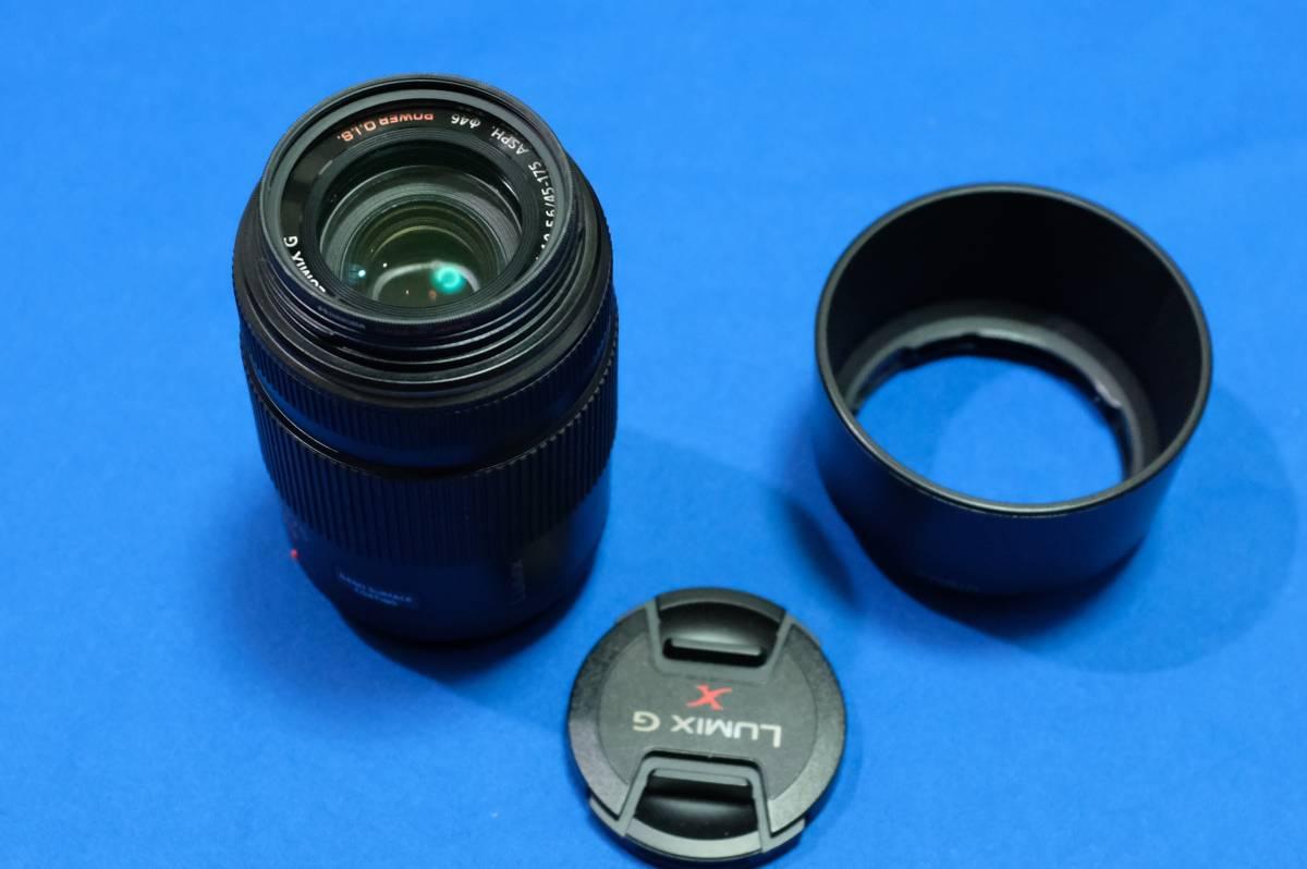 LUMIX G X VARIO PZ 45-175 mm F4.0-5.6 ASPH. POWER O.I.S. H-PS45175-K 中古美品 送料込