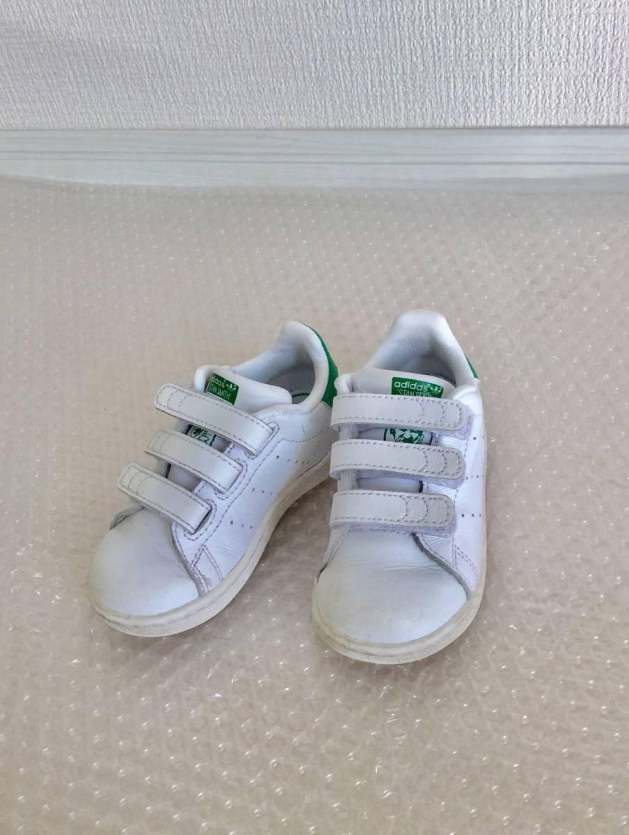 美品■【adidas】アディダス STANSMITH CF I(14cm)アディダス スニーカー■BEAMS ビームス