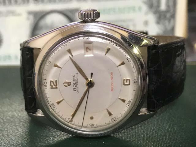 ☆ロレックス/Ref6094/オイスターデイト/赤デイト/アンティーク腕時計/手巻き