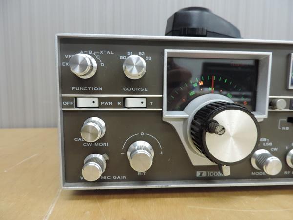 t770◆ICOM アイコム 50MHz トランシーバー 無線機 IC-501 + IC-3PU + IMP-500Ω_画像4