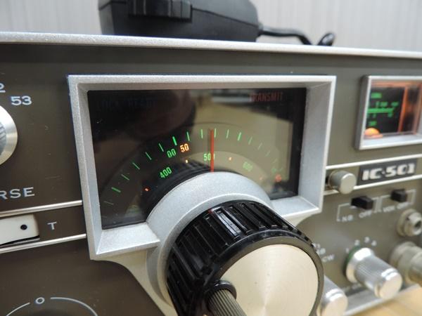t770◆ICOM アイコム 50MHz トランシーバー 無線機 IC-501 + IC-3PU + IMP-500Ω_画像6