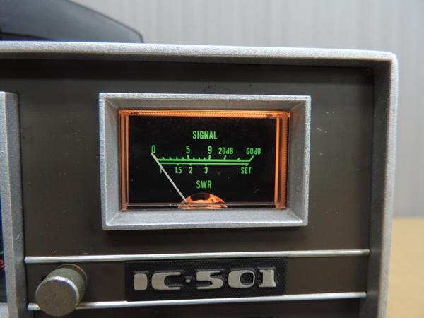 t770◆ICOM アイコム 50MHz トランシーバー 無線機 IC-501 + IC-3PU + IMP-500Ω_画像7