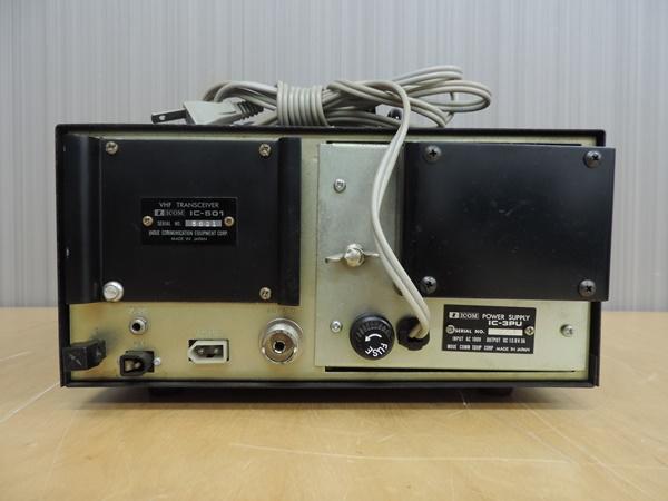 t770◆ICOM アイコム 50MHz トランシーバー 無線機 IC-501 + IC-3PU + IMP-500Ω_画像9