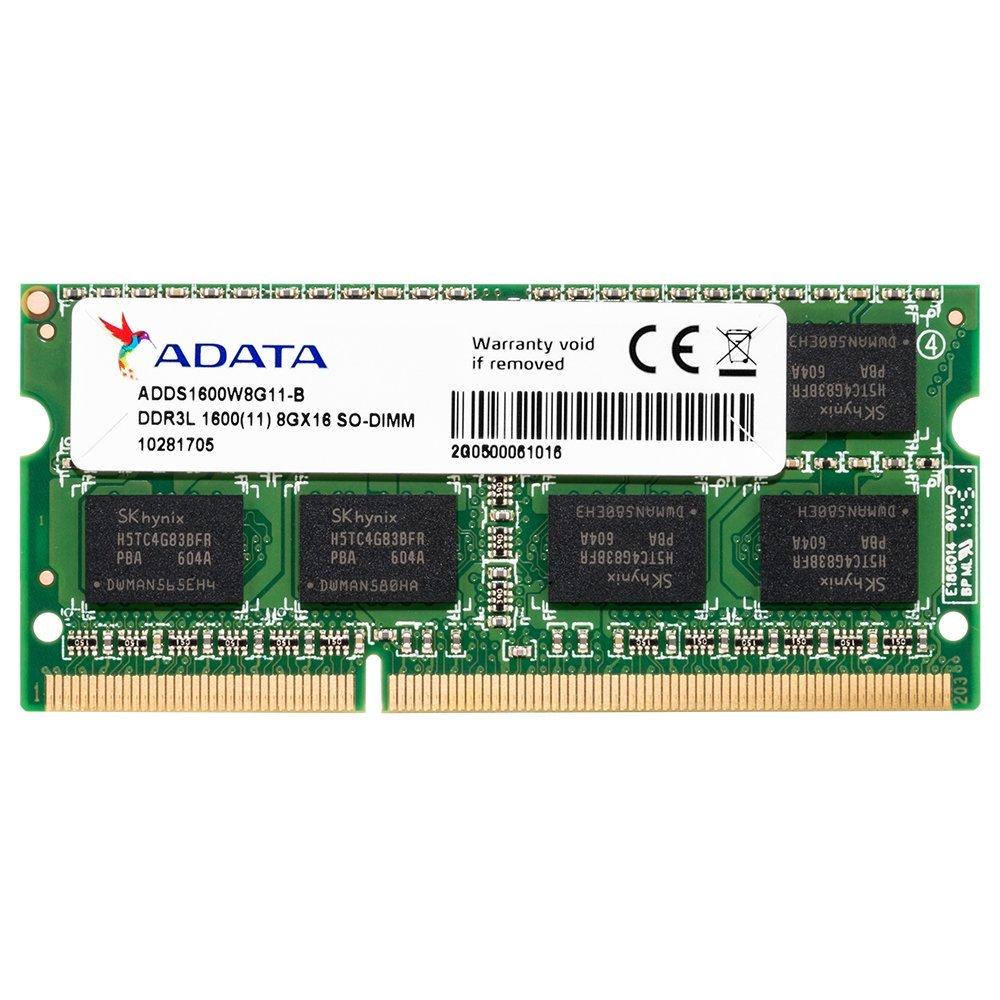 ★☆ADATA ノート用増設メモリ PC3L-12800 DDR3L-1600(512x8) 8GB☆★